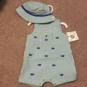 Little me 4 snap onesie